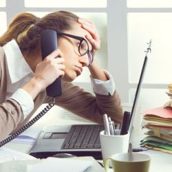 How effective office design can help to keep stress under control